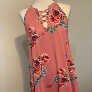 Ultra Soft Floral Dress